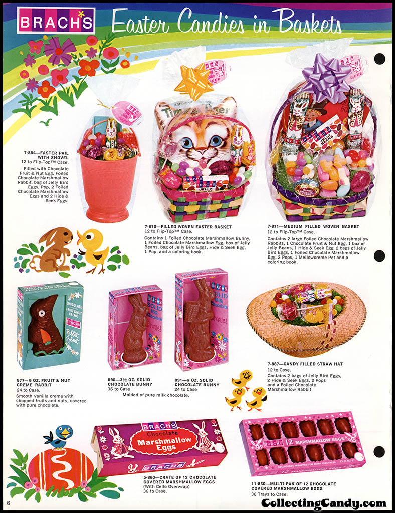 Brach's - Easter Candies - candy product catalog - Page 06 - April 1972