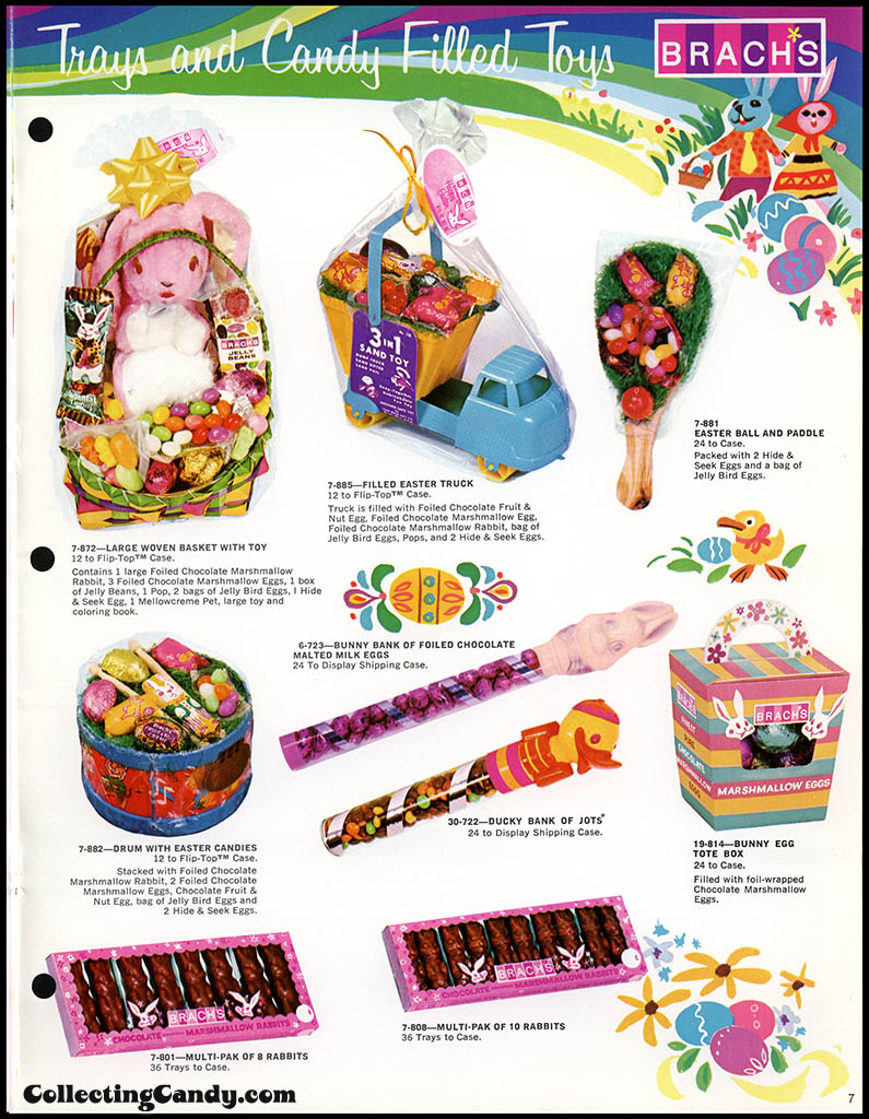 Brach's - Easter Candies - candy product catalog - Page 07 - April 1972