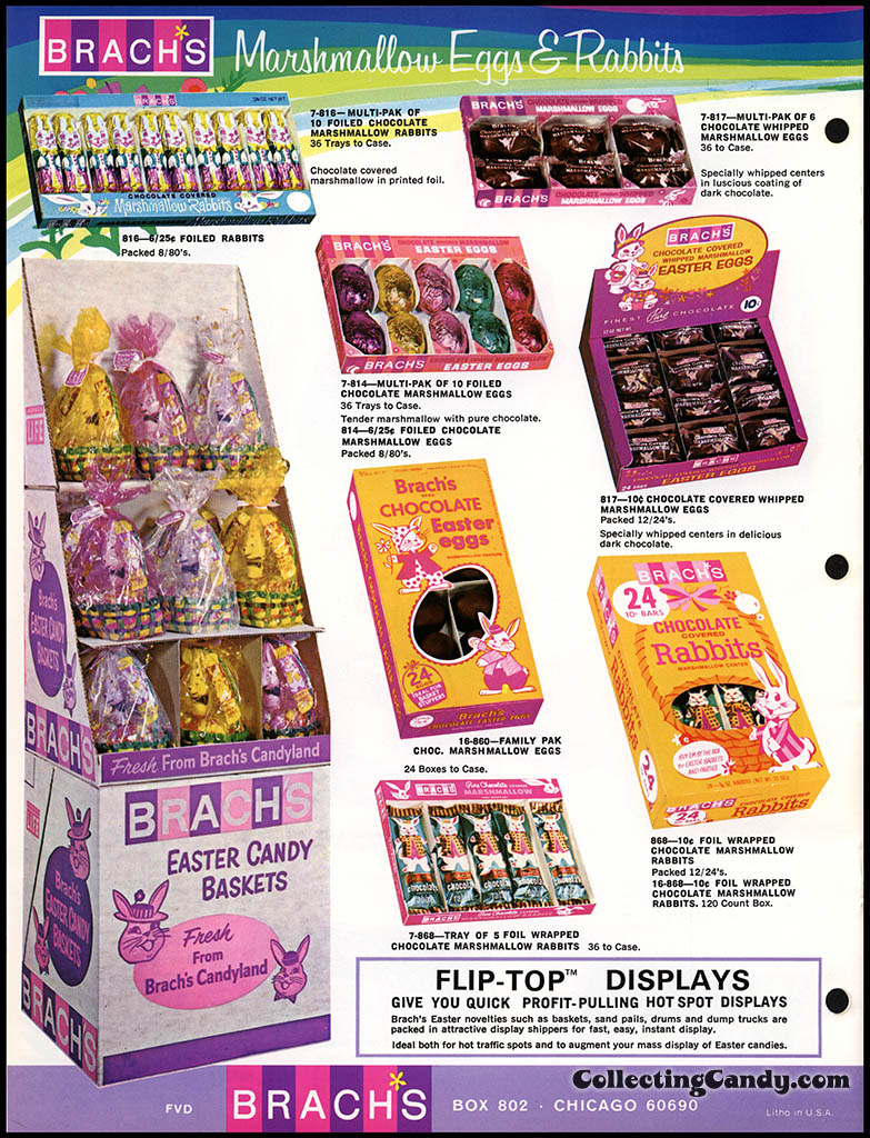 Brach's - Easter Candies - candy product catalog - Page 08 - April 1972
