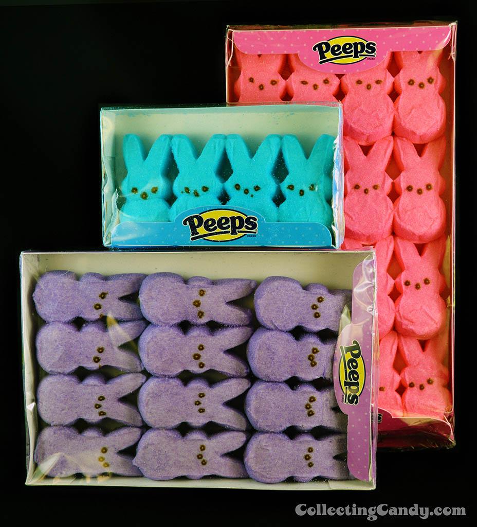 Just Born Peeps Bunnies multi-packs - Easter 2014-B