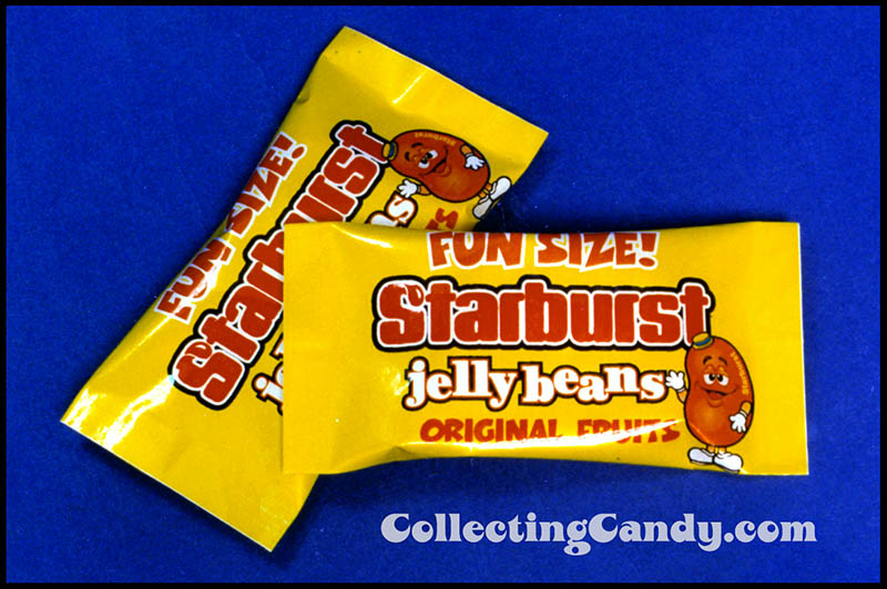 Mars - Starburst Jellybeans - Fun Size - packaging prototype mockup - 1990's