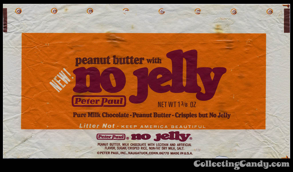 Peter-Paul-peanut-butter-with-No-Jelly-candy-bar-wrapper-1970s