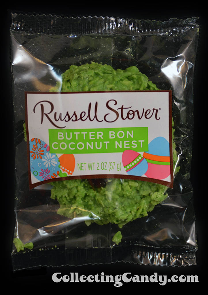 Russell STover - Butter Bon Coconut Nest - 2oz Easter candy package photo - March 2014