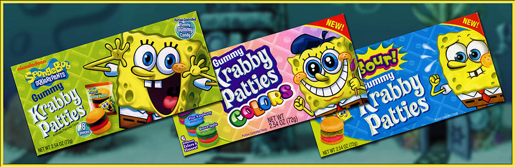 CC_Spongebob Krabby Patties TITLE PLATE