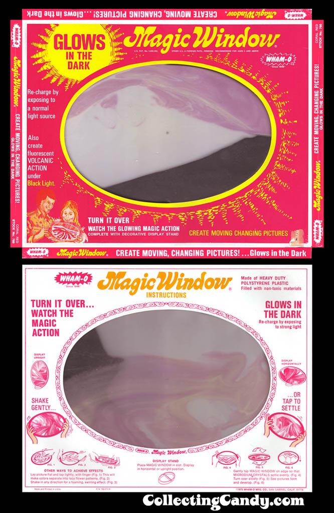 Wham-O Magic Window Glowing Magic Window - 1970's