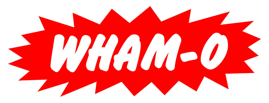 Wham-O brand logo from the 1970's