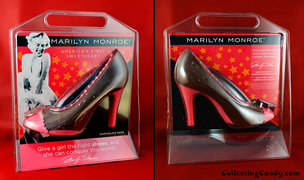 It'Sugar - Marilyn Monroe - America's First Sweetheart - Chocolate Shoe - February 2014