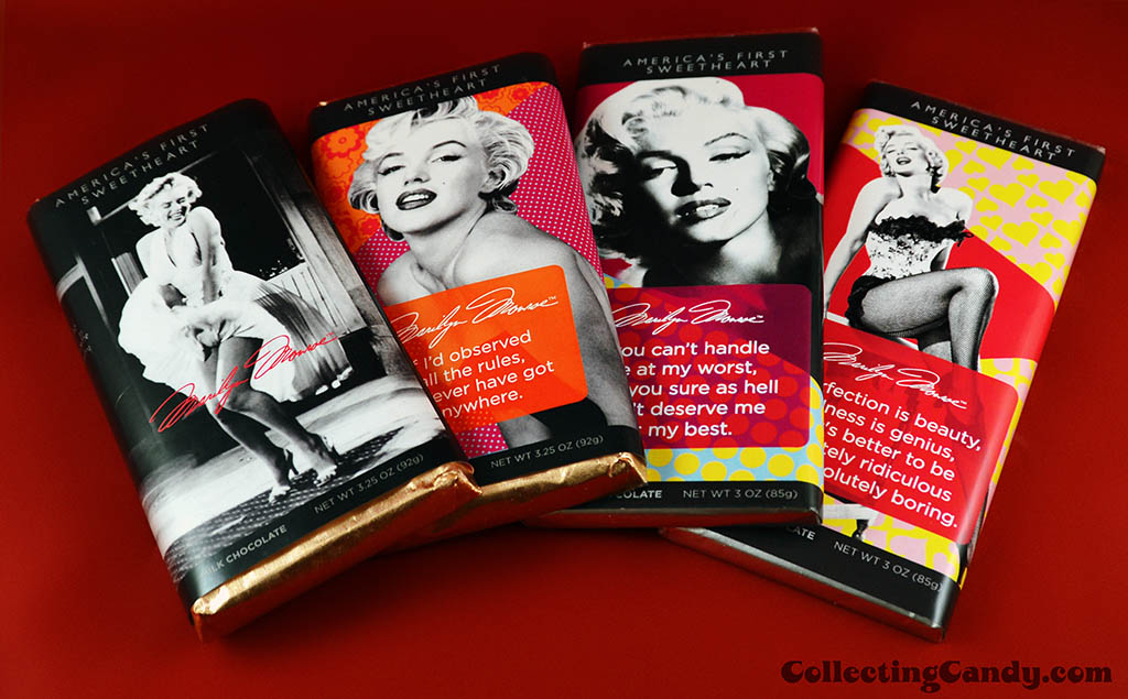 It'Sugar - Marilyn Monroe chocolate bar selection photo - March 2014