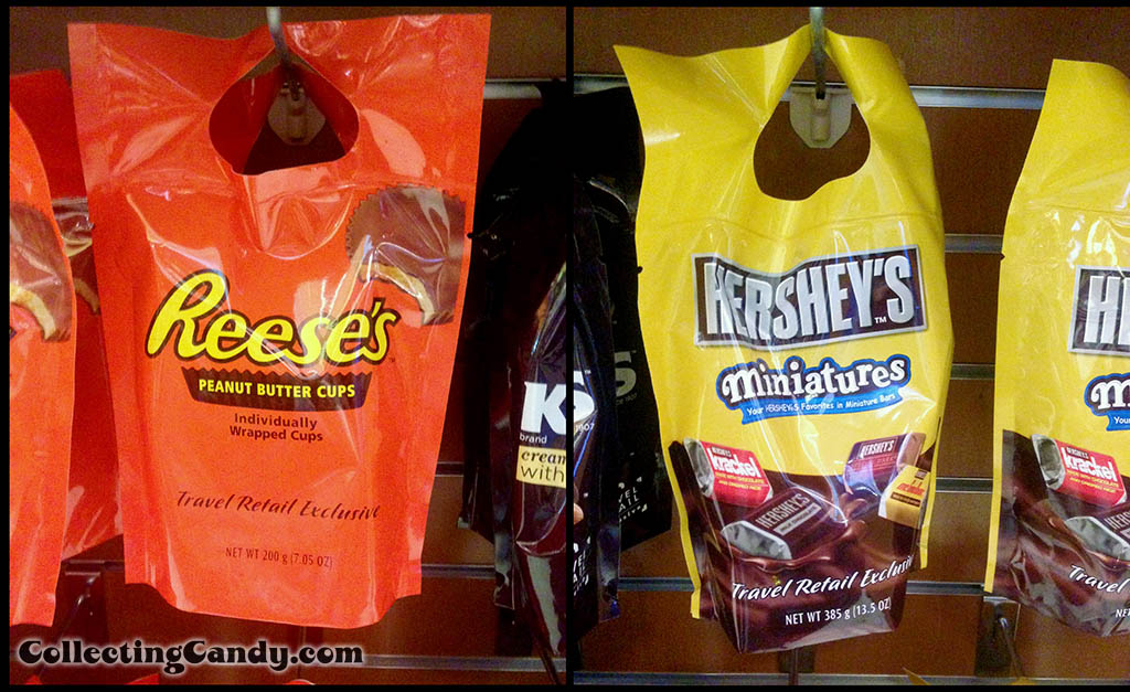 Hershey's Airport newsstand travel retail exclusive packages - July 2014