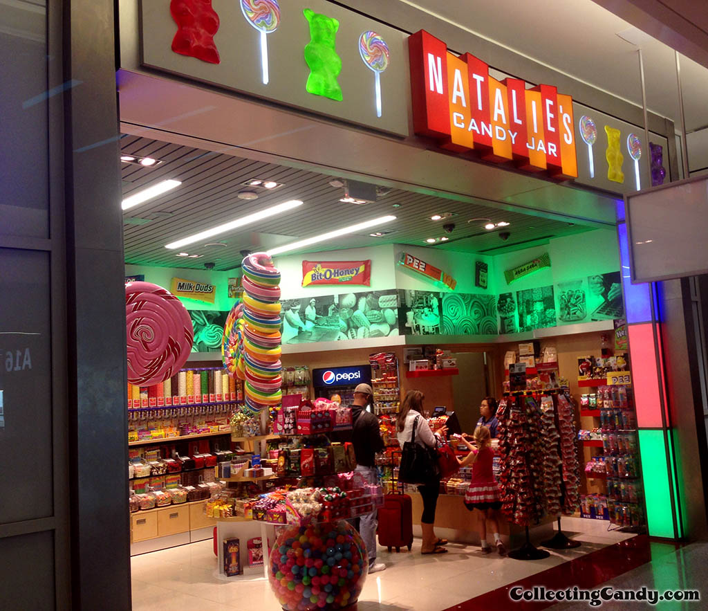 Natalie's Candy Jar - candy store in the Dallas airport - July