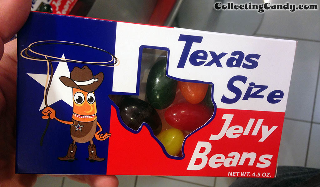 Texas Sized Jelly Beans at the Dallas airport - July 2014
