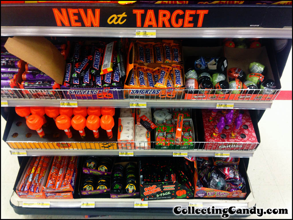2013 target halloween candy section