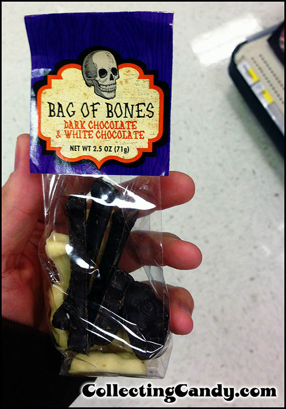 2013 Target Halloween Private Label Bag of Bones - White Chocolate & Dark Chocolate