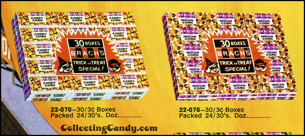 Brach's 1971 Halloween Salesman Packet - Color Catalog Close-Up 01