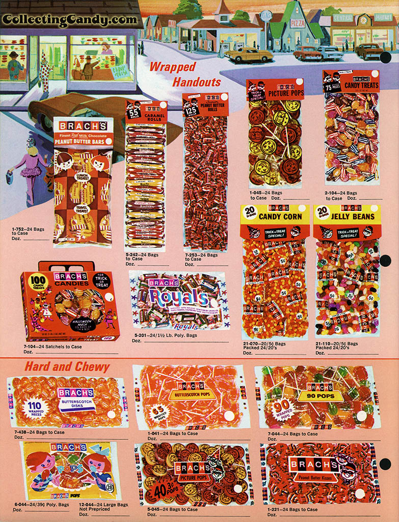 Brach's 1971 Halloween Salesman Packet - Color Catalog 01 - Page 2