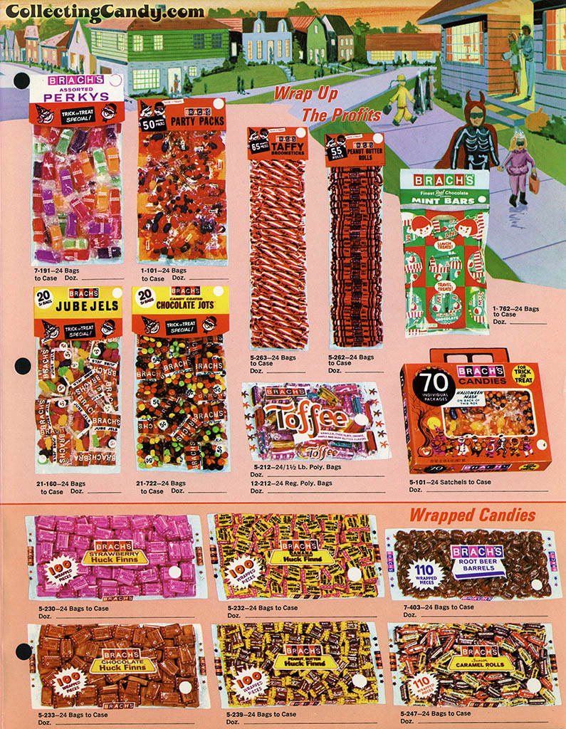 Brach's 1971 Halloween Salesman Packet - Color Catalog 01 - Page 3