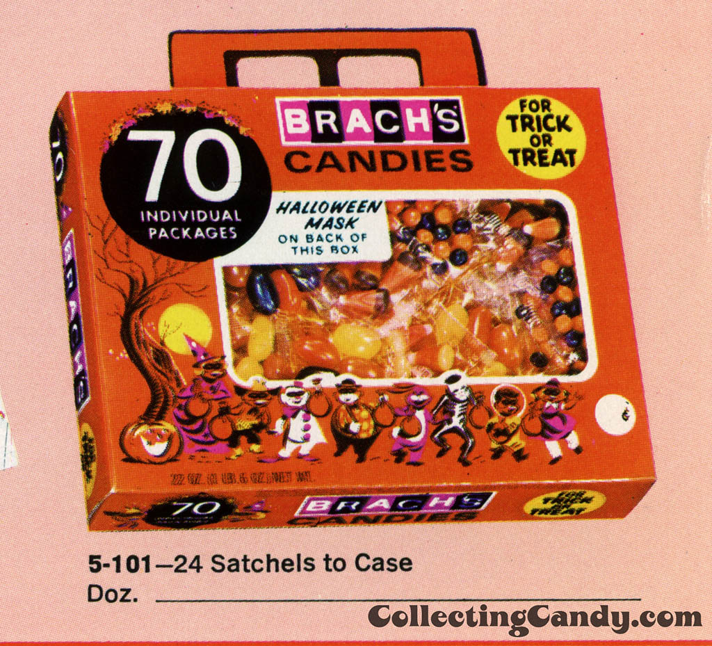 Brach's 1971 Halloween Salesman Packet - Color Catalog 03 - Close-Up 2