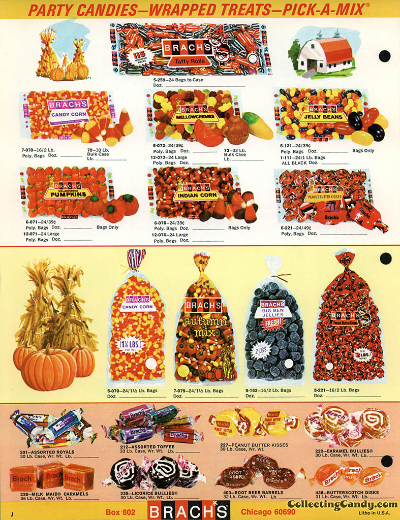 Brach's 1971 Halloween Salesman Packet - Color Catalog 01 - Page 4