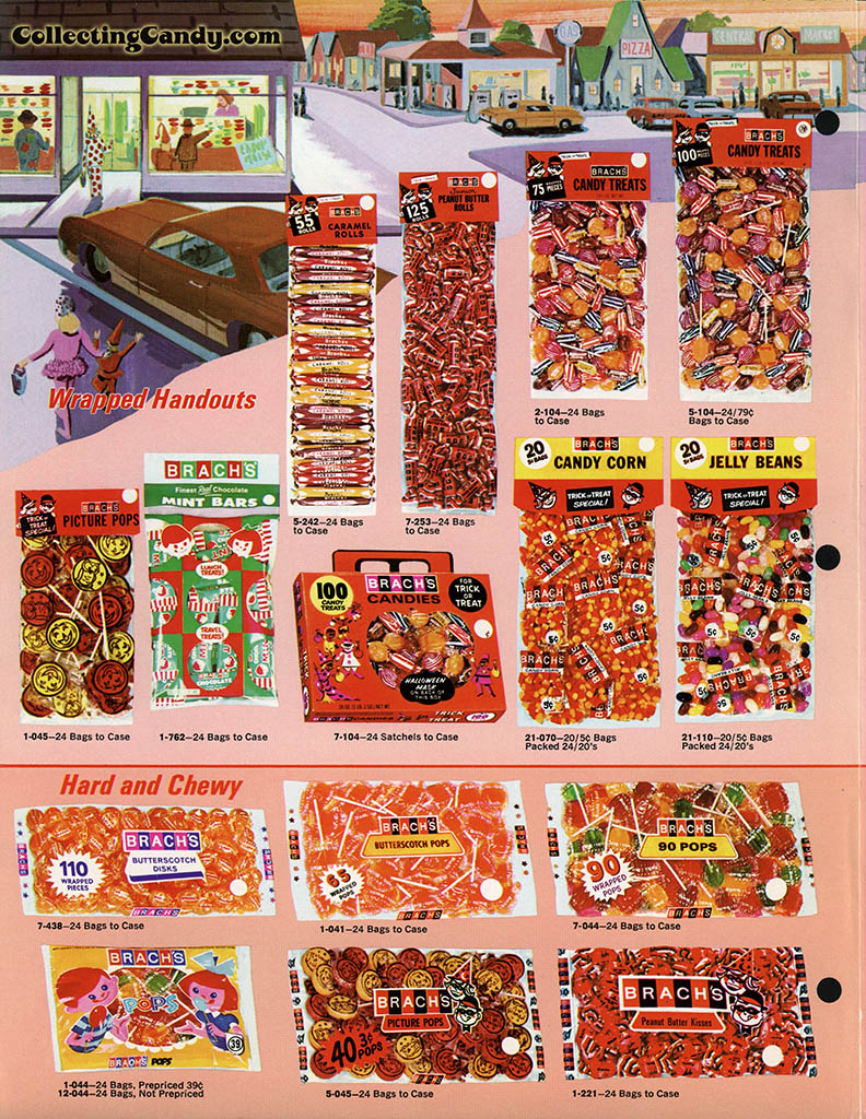 brachs 1971 halloween salesman packet color catalog 02 page 2