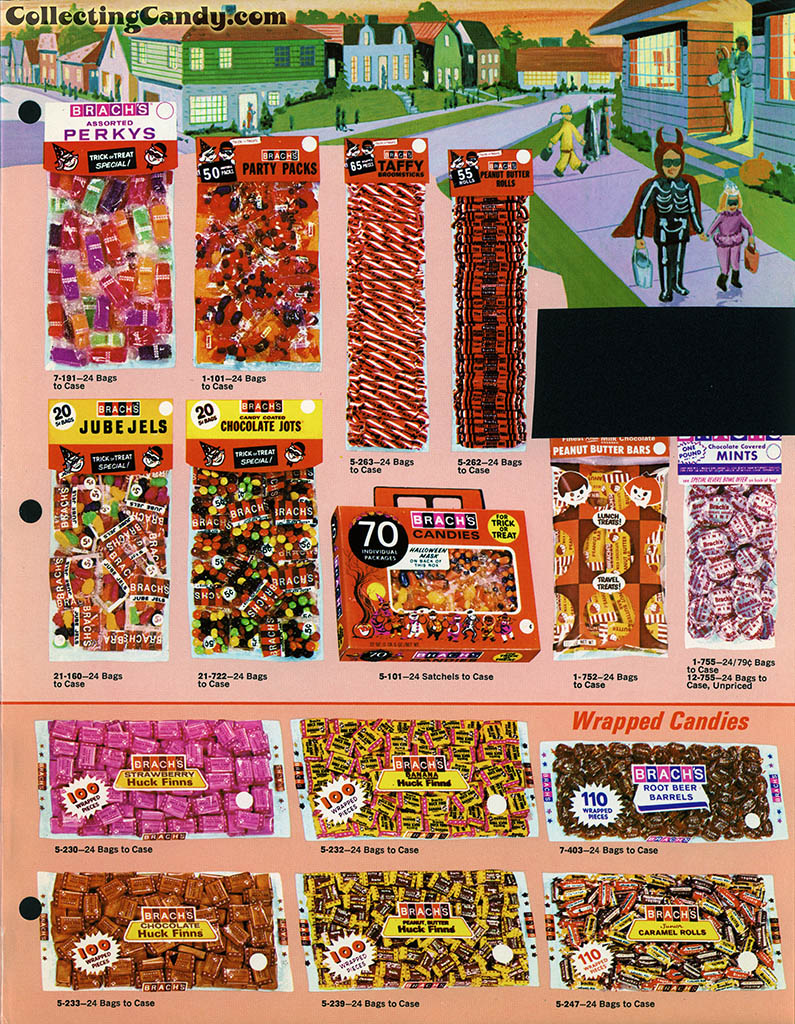 Brach's 1971 Halloween Salesman Packet - Color Catalog 02 - Page 3