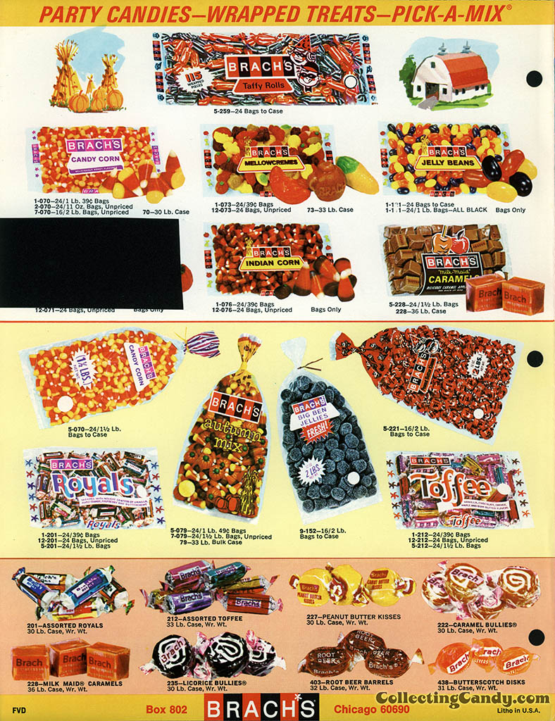 Brach's 1971 Halloween Salesman Packet - Color Catalog 02 - Page 4