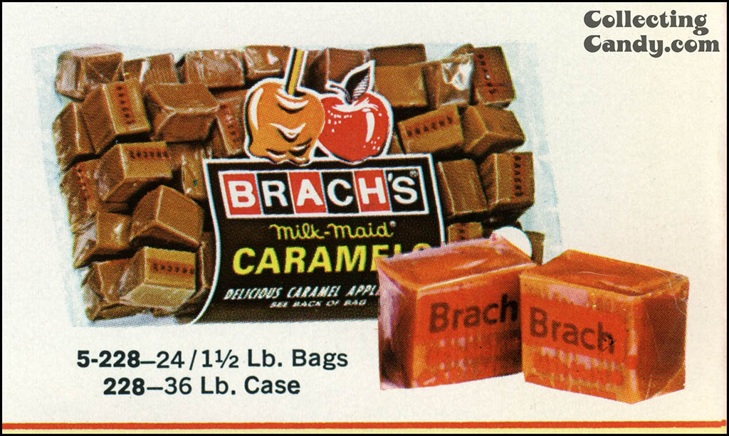 Brach's 1971 Halloween Salesman Packet - Color Catalog 04 - Close-Up