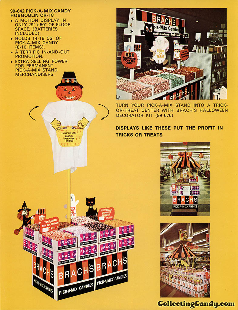 Brach's 1971 Halloween Salesman Packet - Color P-O-P flyer - Page 02