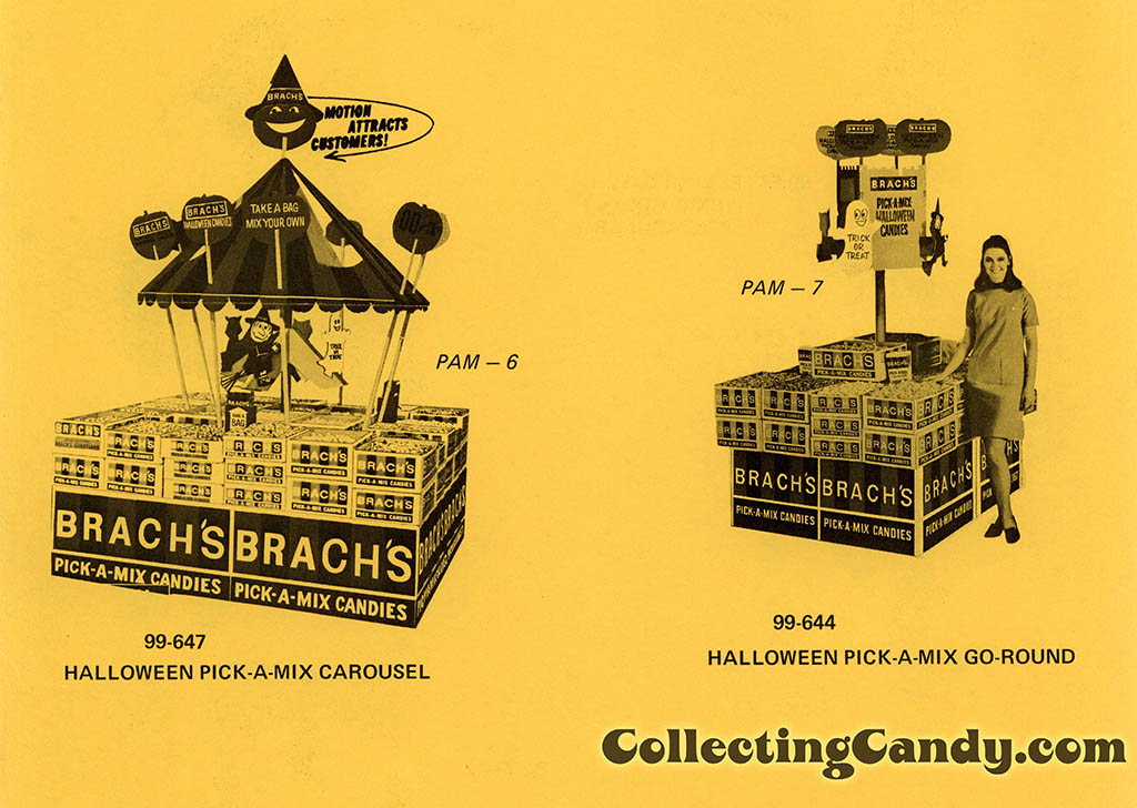 Brach's 1971 Halloween Salesman Packet - In-Store Point-of-Purchase Options Page 03