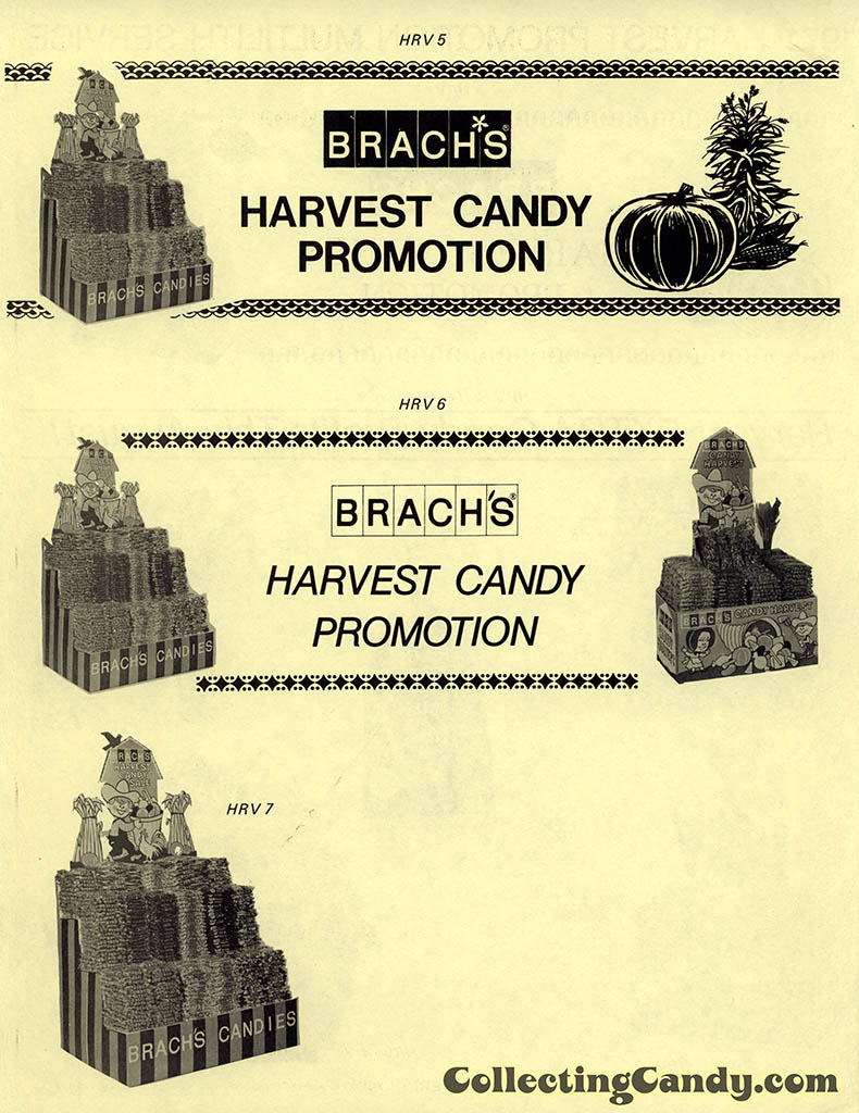 Brach's 1971 Halloween Salesman Packet - Harvest Candy Promotion flyer - Page 02