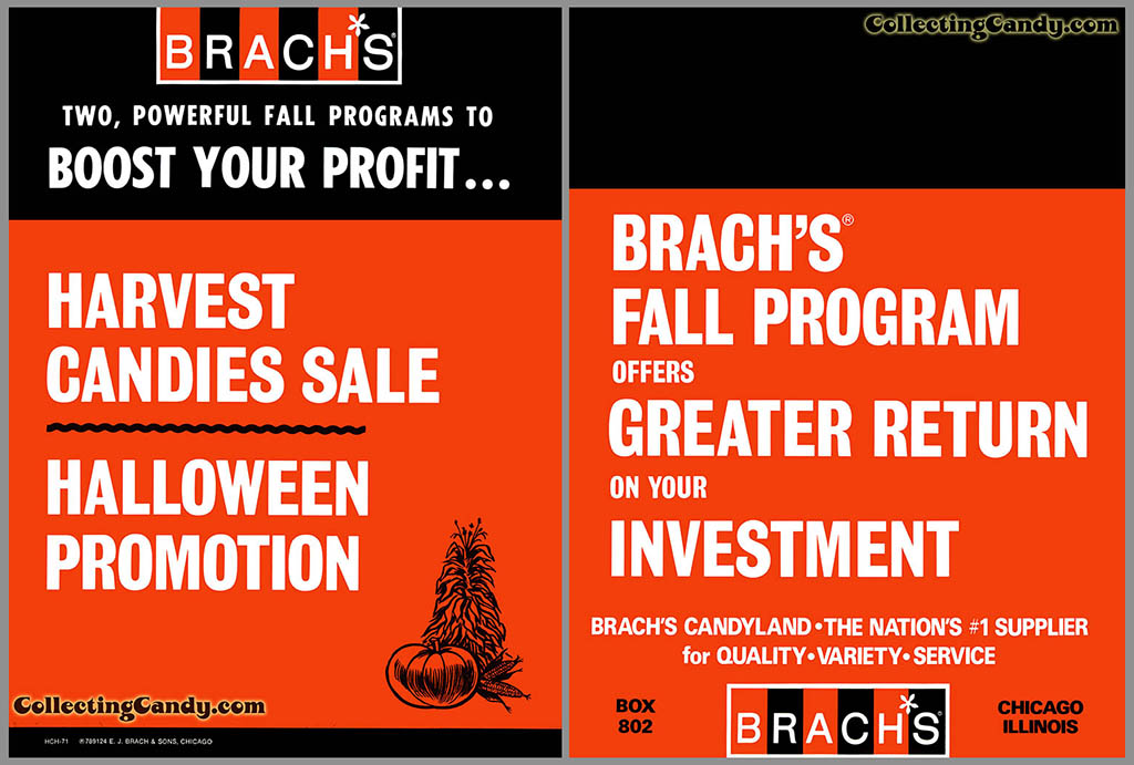 Brachs_1971_HalloweenSalesFolder_ Front and Back Cover