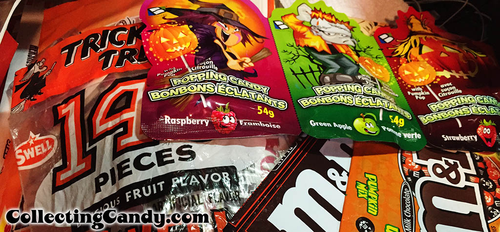Gathering Halloween packages for CountdownToHalloween Coverage - September 2014
