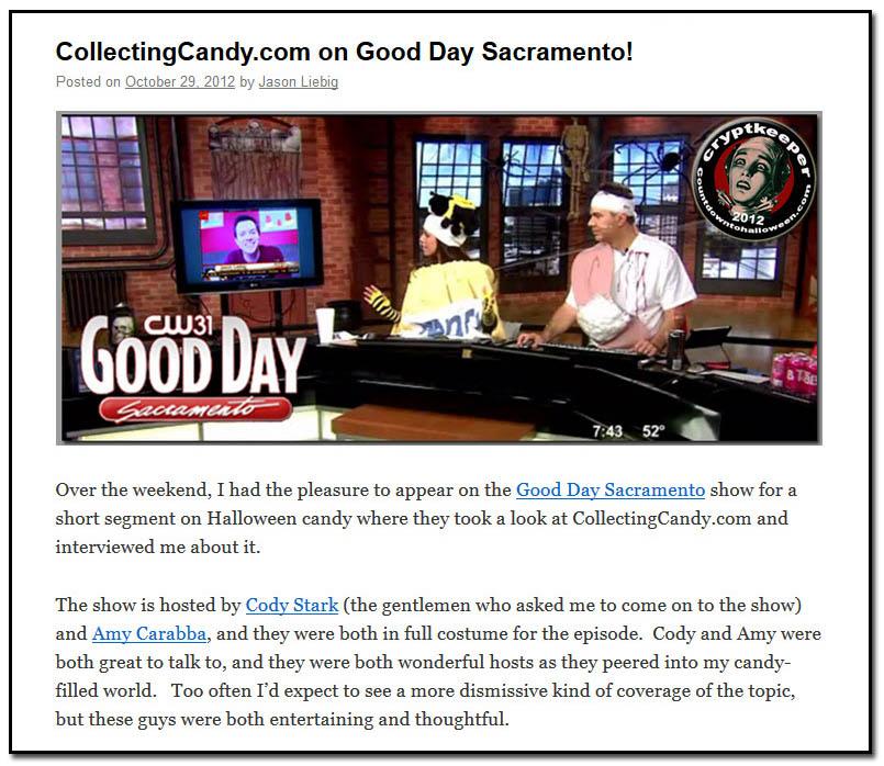 Good Day Sacramento - October 29th, 2012