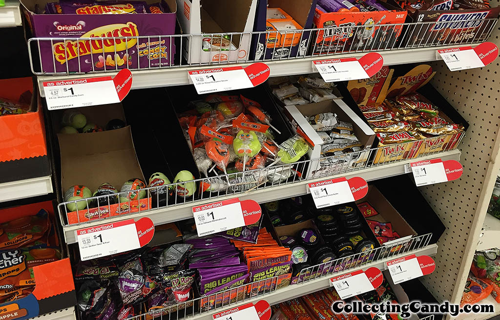 Halloween shopping for CollectingCandy Halloween Coverage Candy Shelves - September 2014