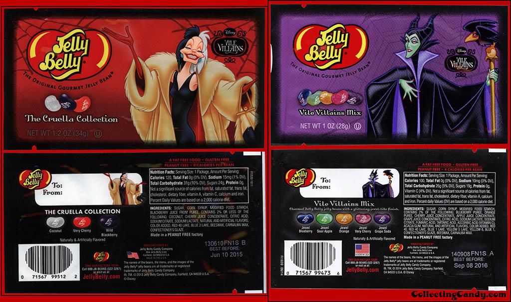 CC_Jelly Belly - Disney Vile Villains - Cruella De Vil & Maleficent - 2013-to-2014 comparison