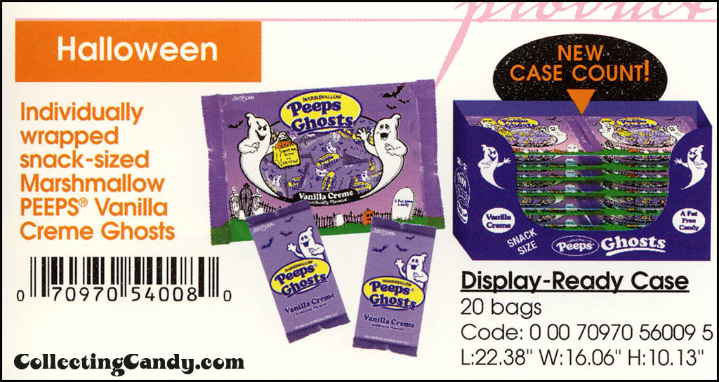 CC_Just Born - Halloween Peeps Vanilla Creme Ghosts catalog image - 2003