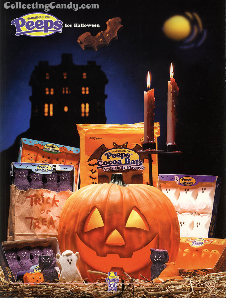 Just Born - Peeps 50th Anniversary Brochure - Halloween Peeps page - 2003