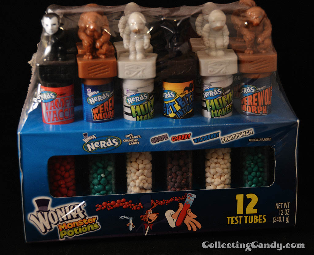 Nestle Wonka - Wonka Nerds Monster Potions - 12oz Halloween novelty candy package - 2007