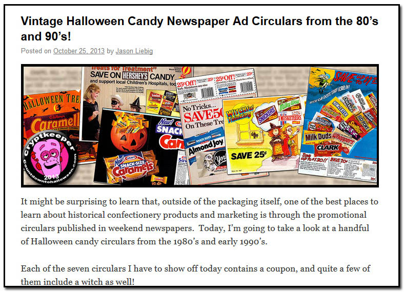 Newspaper circulars from the 80s and 90s - October 25th, 2013