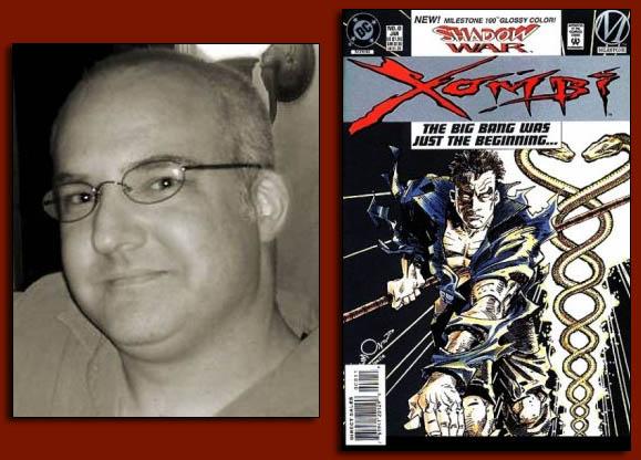 John Rozum of CountdownToHalloween and DC Comics Xombi