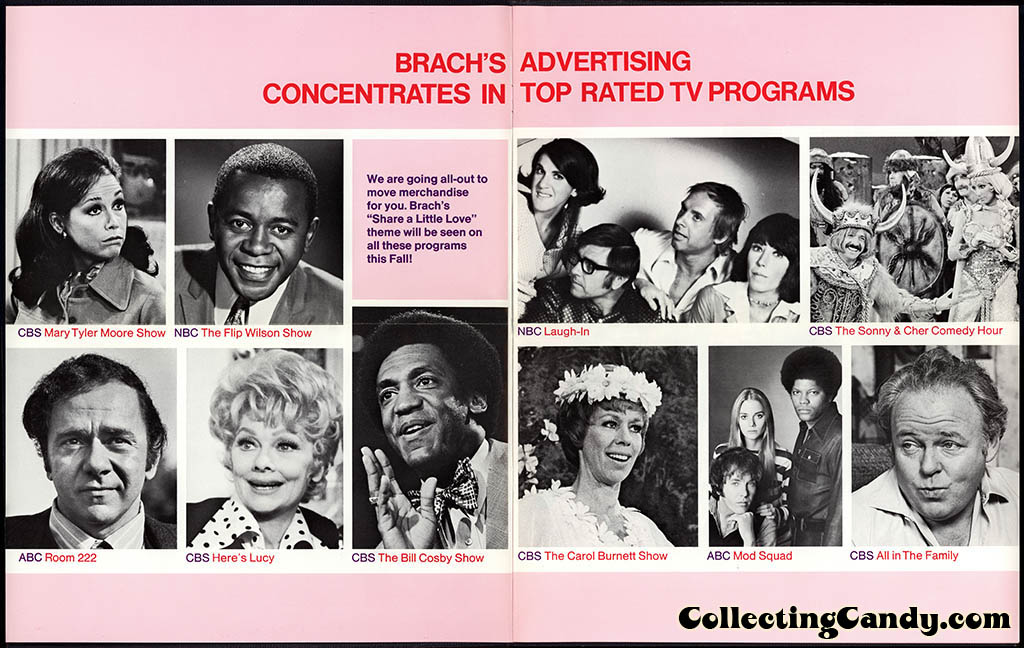 Brachs - Fall 1972 - Programming and POP fold-out brochure - Page 02-03