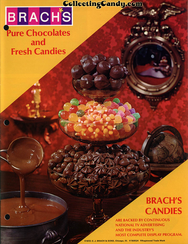 Brachs - Fall 1972 - Pure Chocolates and Fresh Candies catalog page 01