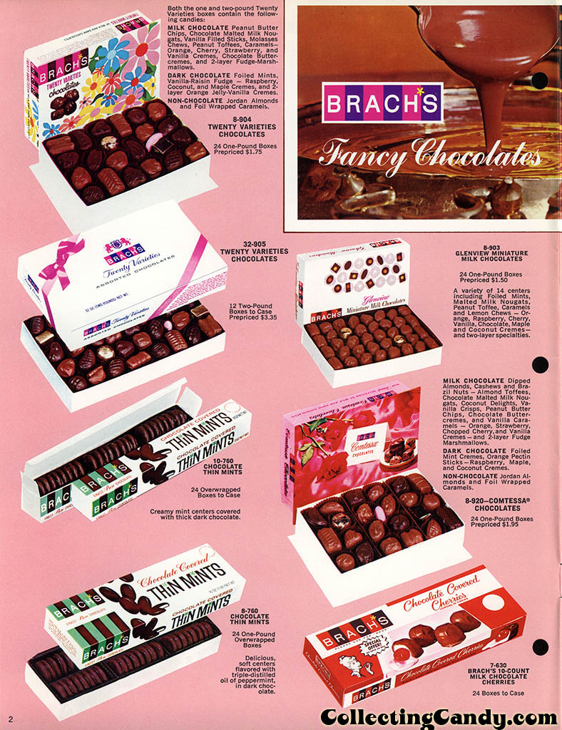 Brachs - Fall 1972 - Pure Chocolates and Fresh Candies catalog page 02