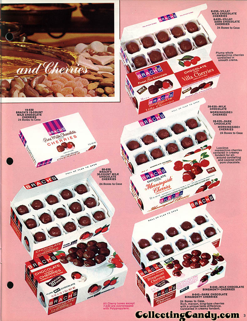 Brachs - Fall 1972 - Pure Chocolates and Fresh Candies catalog page 03