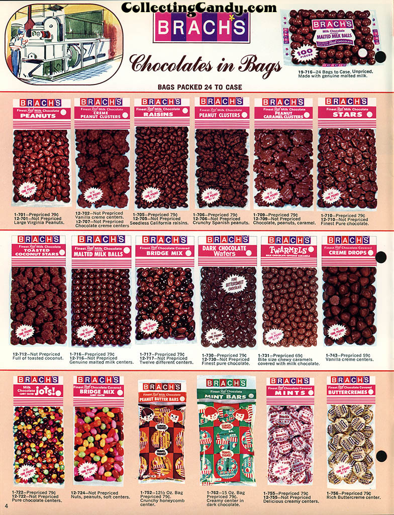 Brachs - Fall 1972 - Pure Chocolates and Fresh Candies catalog page 04