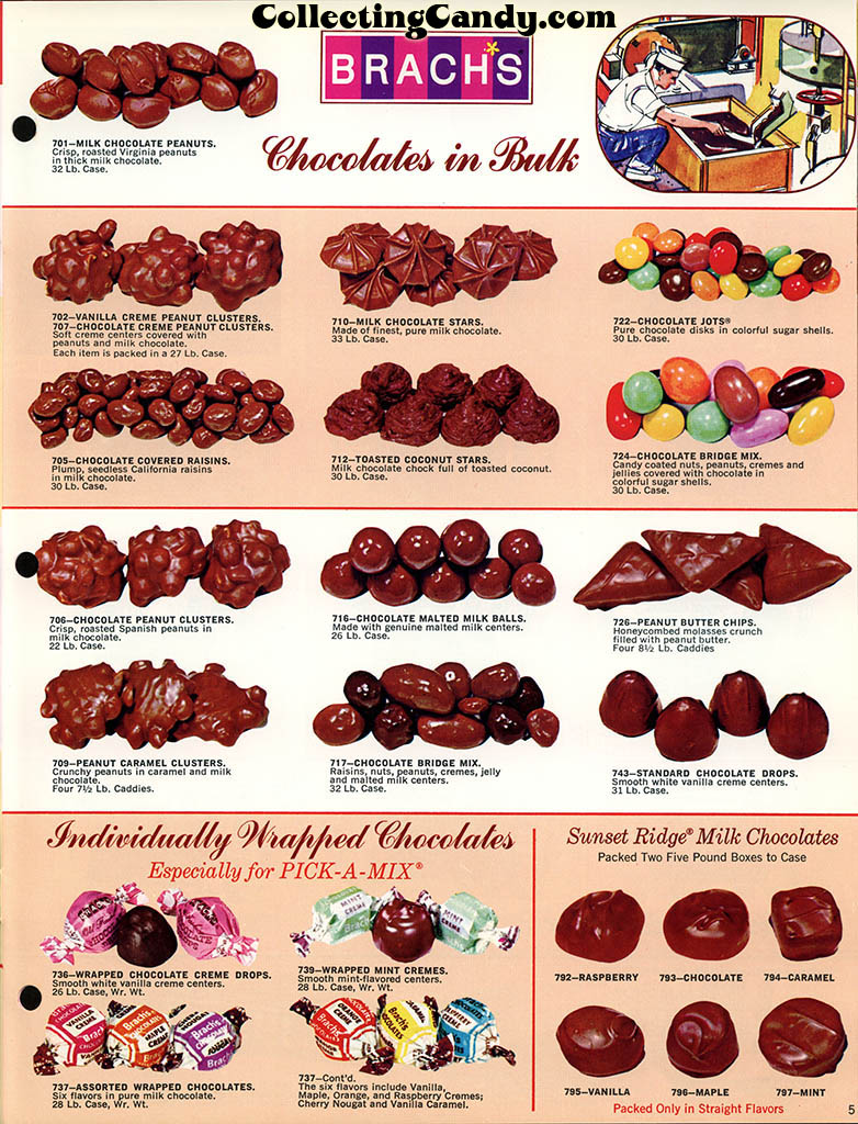 Brachs - Fall 1972 - Pure Chocolates and Fresh Candies catalog page 05