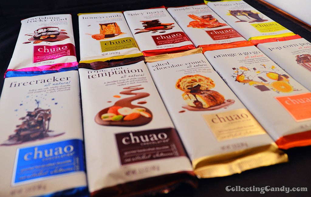 Chuao Chocolatier - Ten Bar Assortment - skewed - 2014