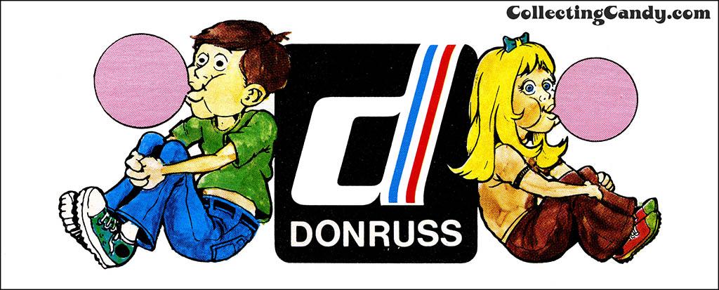 Donruss 1970's kid logo