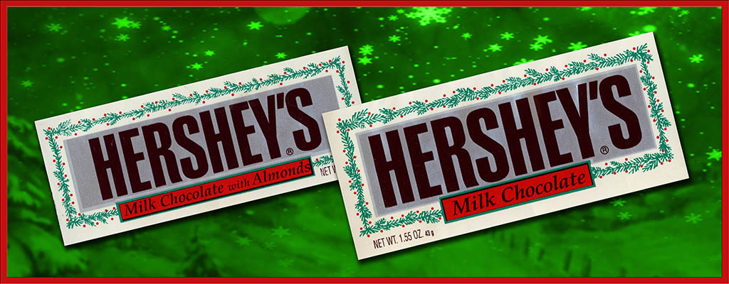 CC_Hersheys Christmas chocolate bars from the early 90's TITLE PLATE