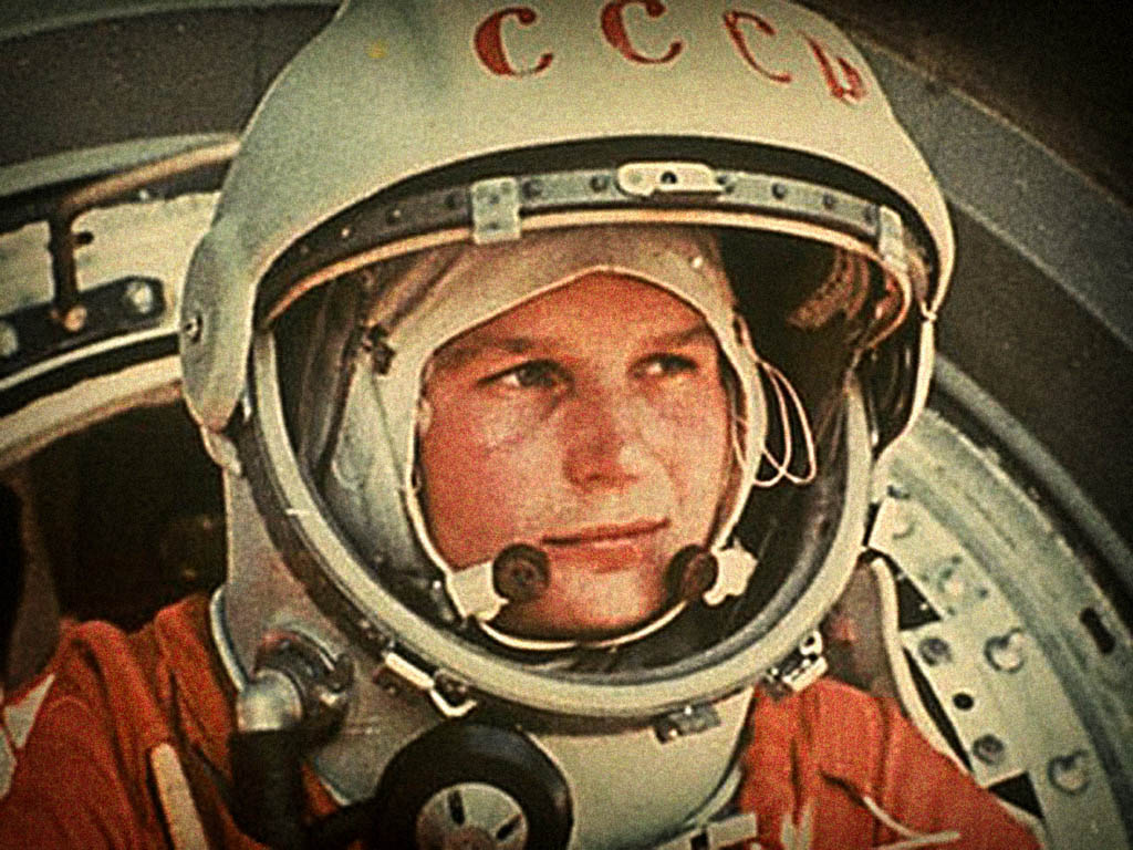 Russian Cosmonaut Yuri Gagarin - the first man in space