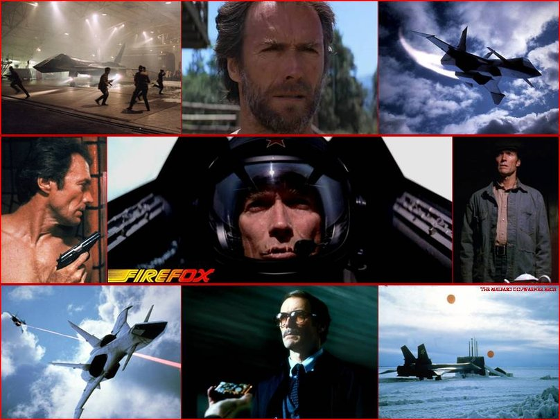 Clint Eastwood Firefox collage - Source Wallpapers